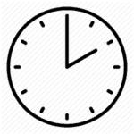Time between meeting